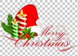 手绘红色圣诞帽子图片