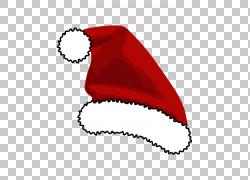 圣诞帽PNG剪贴画图片