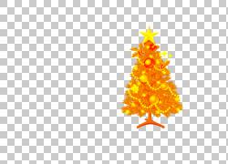 圣诞树圣诞老人冷杉图片