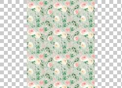 鲜花绿叶画布