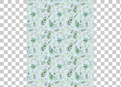 绿叶画布背景