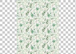 绿叶画布背景免扣