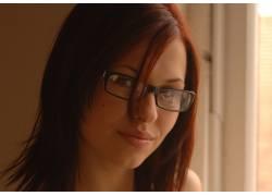 Iga Wyrwal,眼镜,戴眼镜的模特,美女25101