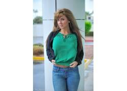 胸部,金发,FTVGirls,牛仔裤,棕色的眼睛,女性,女人,美女,人物6826
