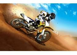 摩托车越野赛,铃木,赛车,赛跑,运动,车辆51135图片