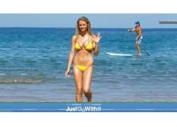 电影,比基尼泳装,女性,女人,美女,人物,金发,布鲁克林Decker54007
