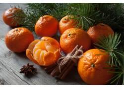 香甜可口的砂糖橘