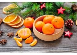 香甜新鲜的砂糖橘
