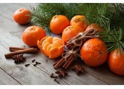 当季新鲜的橘子水果