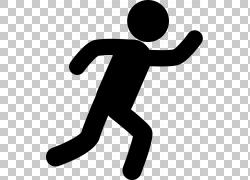 计算机图标运行,慢跑PNG剪贴画体育,手工,跑步,手臂,鞋,剪影,体育