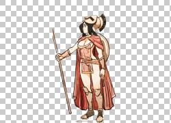 女勇士,女勇士PNG剪贴画商业女性,卡通,虚构人物,女人,武器,女人图片