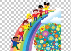 前,学校儿童课堂教育,彩虹PNG剪贴画类,蹒跚学步,颜色,彩虹圈,虚图片