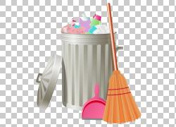 清洁清洁女仆服务,卡通垃圾桶PNG剪贴画卡通人物,废物,漫画,商业图片