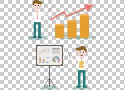 数据分析大数据组织业务分析,商业卡通创意PNG剪贴画卡通人物,公图片