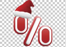 圣诞帽子假日折扣PNG剪贴画功能区,帽子,文本,折扣,圣诞节装饰,虚图片