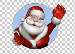 圣诞老人圣诞树,圣诞老人透明PNG clipart孩子,假期,手,圣诞节装图片