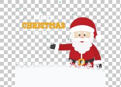 圣诞老人圣诞节装饰品,雪圣诞老人材料PNG clipart文本,节日元素,图片