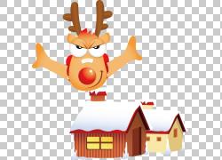 圣诞节图画,动画片圣诞节材料PNG clipart卡通人物,哺乳动物,节日图片