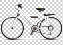 自行车车轮,卡通自行车PNG剪贴画卡通人物,纹理,其他,自行车框架,图片