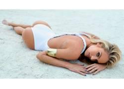 坎蒂丝・史汪尼普,模型,金发,比基尼泳装,人物,女性女人,美女,模图片