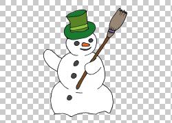 雪人扫帚,雪人的PNG剪贴画剪贴画,雪人,虚构人物,节日装饰品,雪人图片