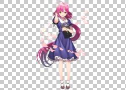 学校的Live!动漫Yuri尸体党,动漫PNG剪贴画紫色,黑色头发,摄影,图片
