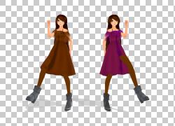 服装连衣裙女孩服装,牧师PNG剪贴画女孩,服装,唐装,旗袍,关节,208图片