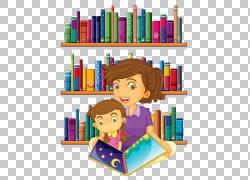 图书馆馆员免费内容,老师,女人在图书馆插图PNG剪贴画旁边的女孩图片