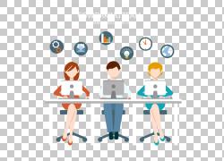 商业服务,商务办公PNG剪贴画业务女人,公司,文本,人,计算机,业务图片