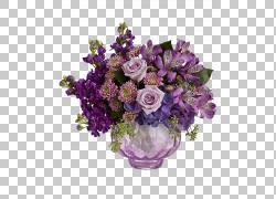鲜花花束Floristry Teleflora薰衣草,薰衣草PNG剪贴画紫色,插花,
