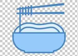 面食方便面计算机图标面条汤,筷子PNG剪贴画杂,蓝色,角度,食物,文图片