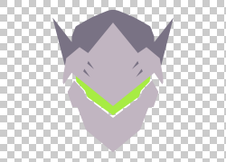 守望Genji,武士T恤计算机图标的黎明,冥想PNG剪贴画角度,徽标,电