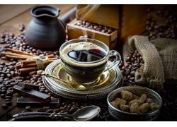 制作咖啡高清摄影图片