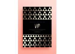 黑金高端卡片VIP折扣黑金卡模板