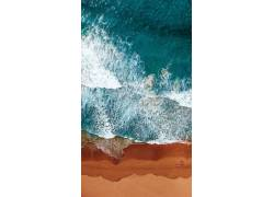 海浪壁纸图片