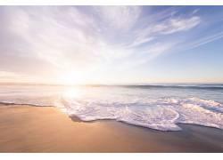 海滩与阳光图片