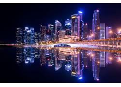 霓虹城市图片