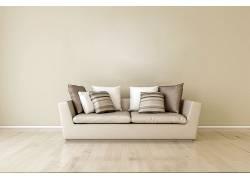 沙发木地板室内设计效果图