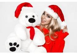圣诞迷人大美女宠物玩具礼物
