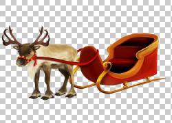 圣诞麋鹿PNG图片