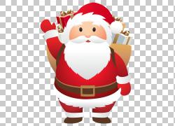 逗人喜爱的圣诞老人图片
