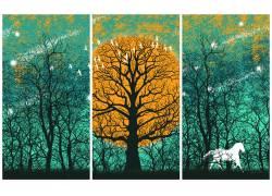树木三联画