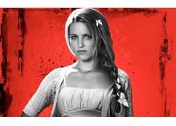 Dianna Agron,演员,选择性着色,看着观众,模特,美女20069