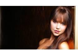 Arielle Kebbel,棕色的眼睛,金发,染过的头发,裸露的肩膀,女性,女