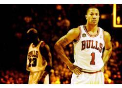 NBA,篮球,德里克罗斯,迈克尔・乔丹,芝加哥,芝加哥公牛队,体育,男图片