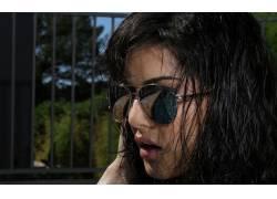 女性,女人,美女,黑发,墨镜,Sunny Leone,色情明星27744