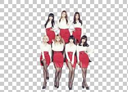 AOA迷你裙K-pop帮助我,AOA透明背景PNG剪贴画时尚,社交集团,女孩,