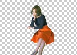 Taeyeon K-pop流行音乐联合外套,少女时代PNG剪贴画杂项,橙色,时图片