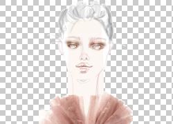 Illustrator Eyebrow Sketch,时尚食谱PNG剪贴画脸,头,插画,时尚图片