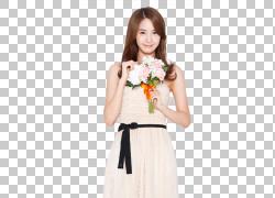 Im Yoon-ah少女时代GENIE哦!,少女时代PNG剪贴画插花,花,女孩,蒂图片
